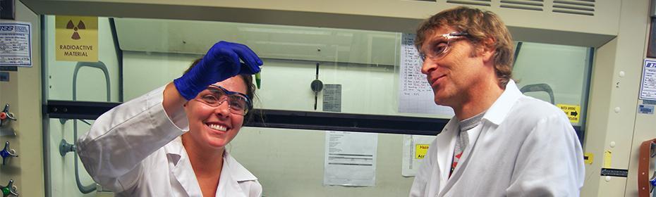 Carine Marshall (Left) and Frank Harmon (Right)